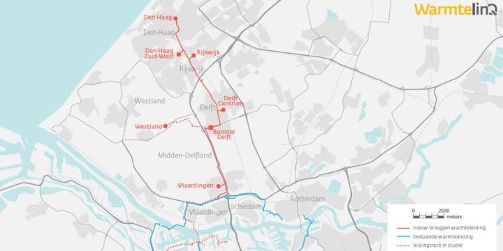 Gasunie en Havenbedrijf Rotterdam vorderen met open warmtenet in Zuid-Holland